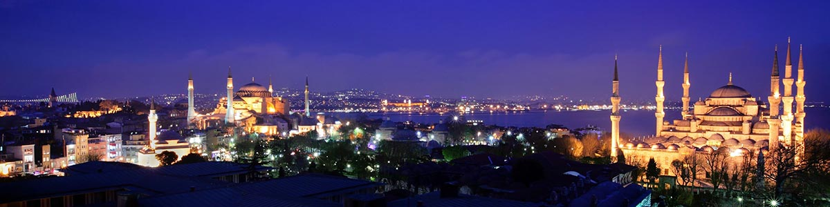 Panoramic view of Istambul